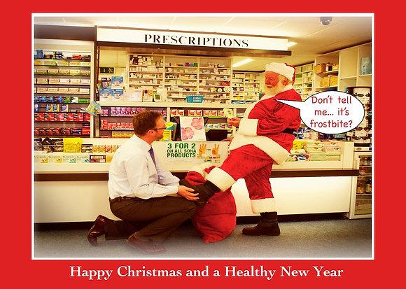 Santa in Chemist - Is it frostbite?