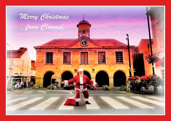 Santa at Main Guard Clonmel