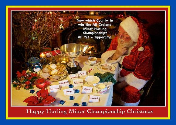 Santa chooses Tipperary for Minor Championship