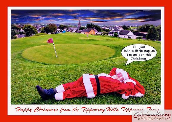 Santa Sleeping Tipp Hills D2256c