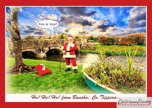 CKP Santa at boat thinking Bansha V8 CRW9056