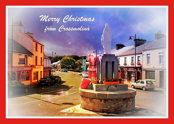 Santa in Crossmolina Village, Co. Mayo