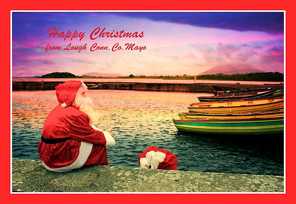 Santa Greetings from Lough Conn, Co. Mayo