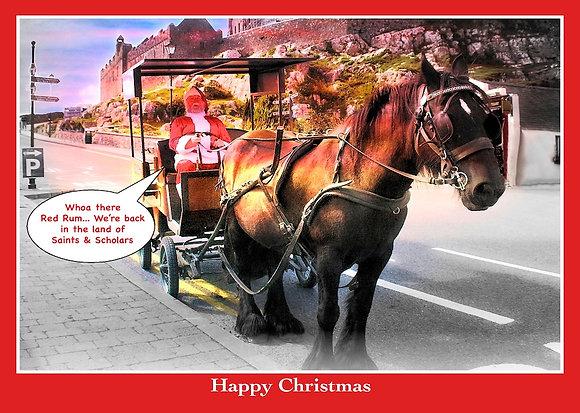 Santa and Red Rum