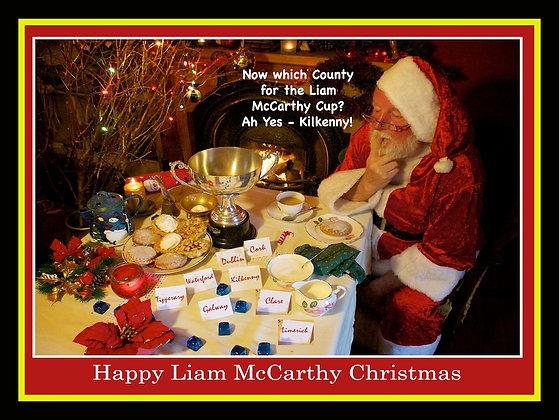 Santa chooses Kilkenny to win Liam McCarthy Cup