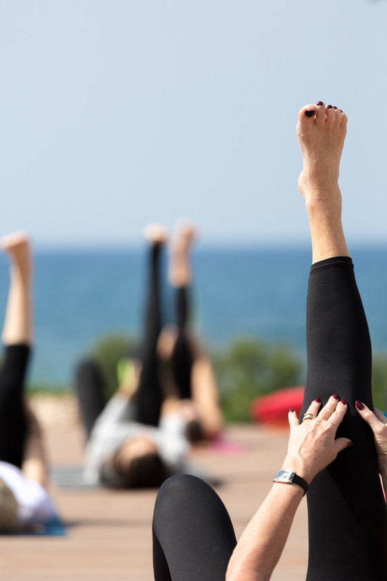 Yoga & Prosecco at Cap St Georges Club Resort, Cyprus