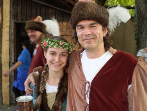 Florian mit Tochter