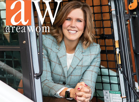 Thompson Howard Home Featured in Area Woman Magazine