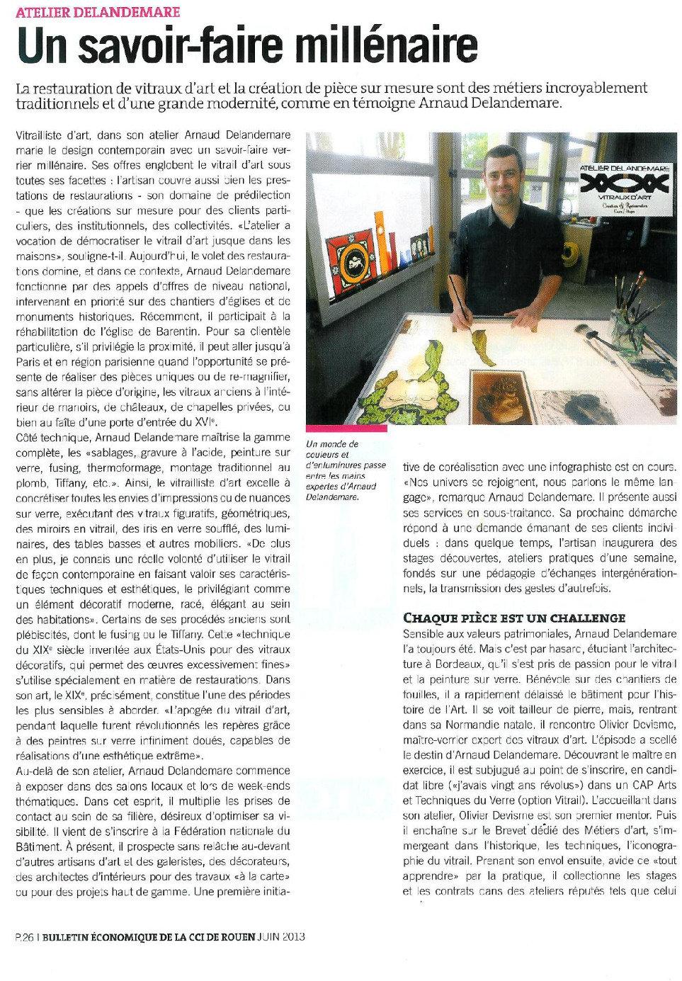 article bulletin économique