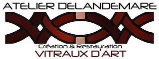 logo atelier Delandemare Vitraux d'Art