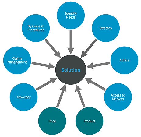 Holistic approach to procuring insurance