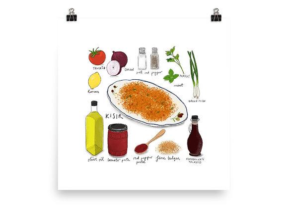 Kısır Recipe Print