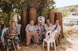 Women of Zeytinköy.