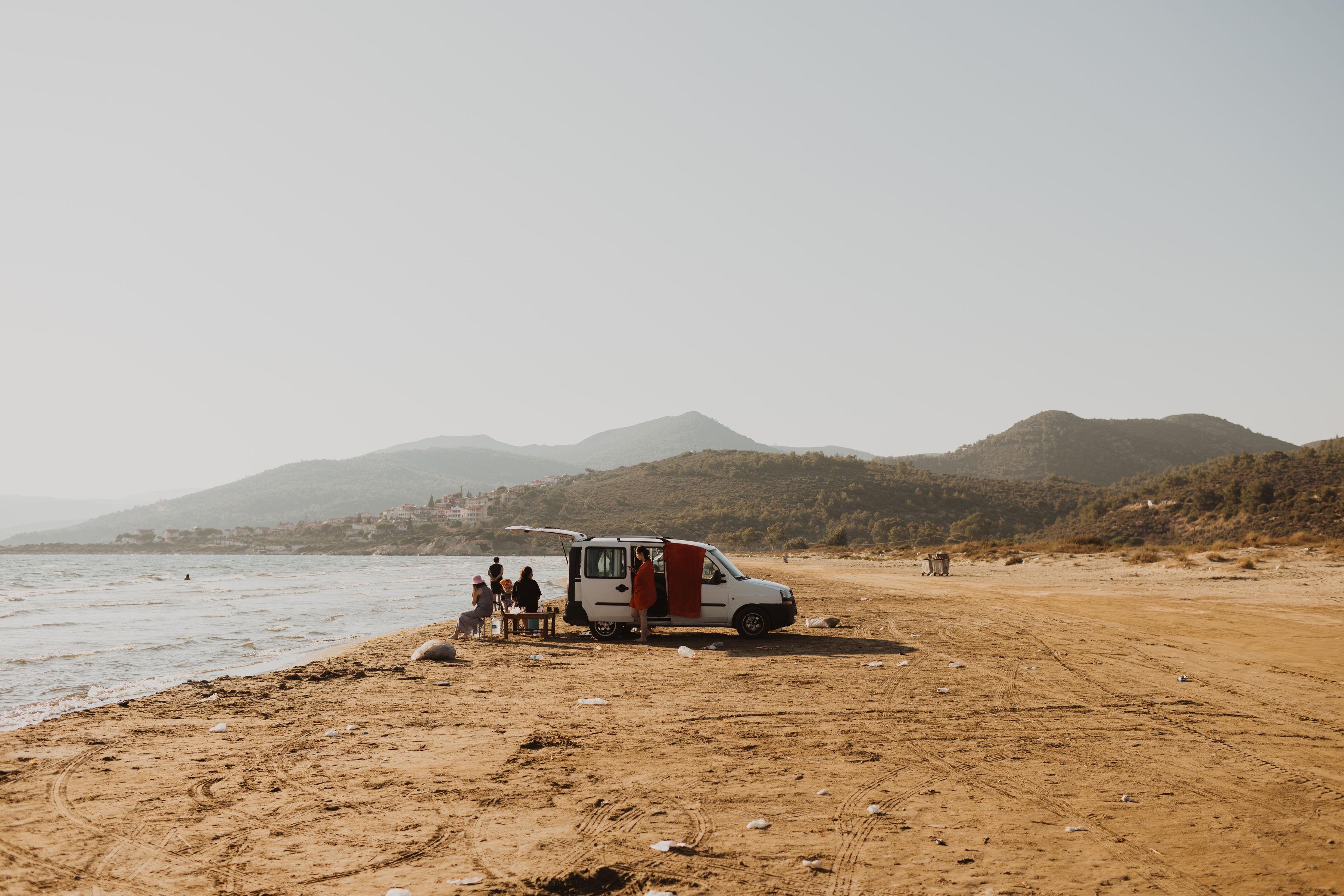 Zeytinköy Beach.