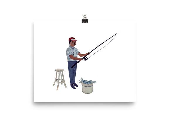 Turkish Fisherman Print