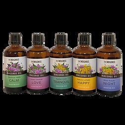 Pure Indigenous Massage Oil Range