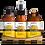 Pure Indigenous Happy Gift Set Massage Oil Room Spray Bath Salt 100% natural ingredients indigenous essential oil blend