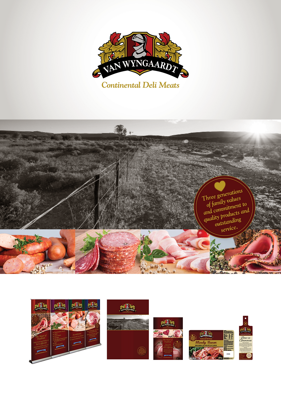 United Meat Packers. Van Wyngaardts Continental Deli Meats