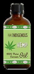 Pure Indigenous Hemp carrier oil