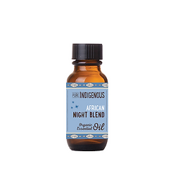 Pure Indigenous Night Blend with indigenous South African Essential Oils