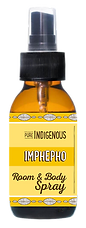Pure Indigenous Imphepo Room & Body Spray with SoutHelichrysum Odoratissimum essential oil African