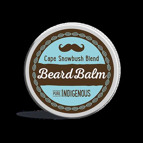 Pure Indigenous Beard Balm - Beeswax, Macadamia Oil, Shea Butter, Sunflower Oil, African Wormwood, Rose Geranium, Cape Snowbu