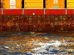 River Thames barge