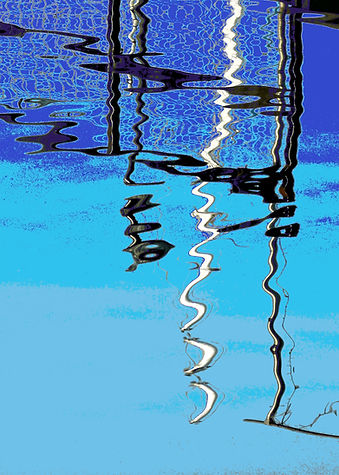 Greenland Dock Reflection 2 40 x 56.jpg