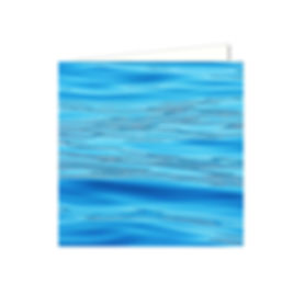 abstract photograph of blue water