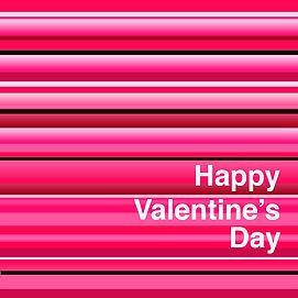 Lucy Cooper design valentines card