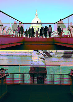 St Pauls & Millennium Bridge Lucy Cooper