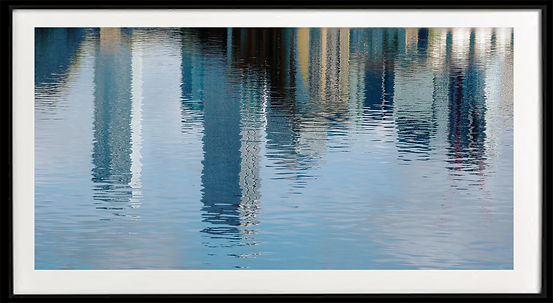 Canary Wharf reflection 4 framed.jpg