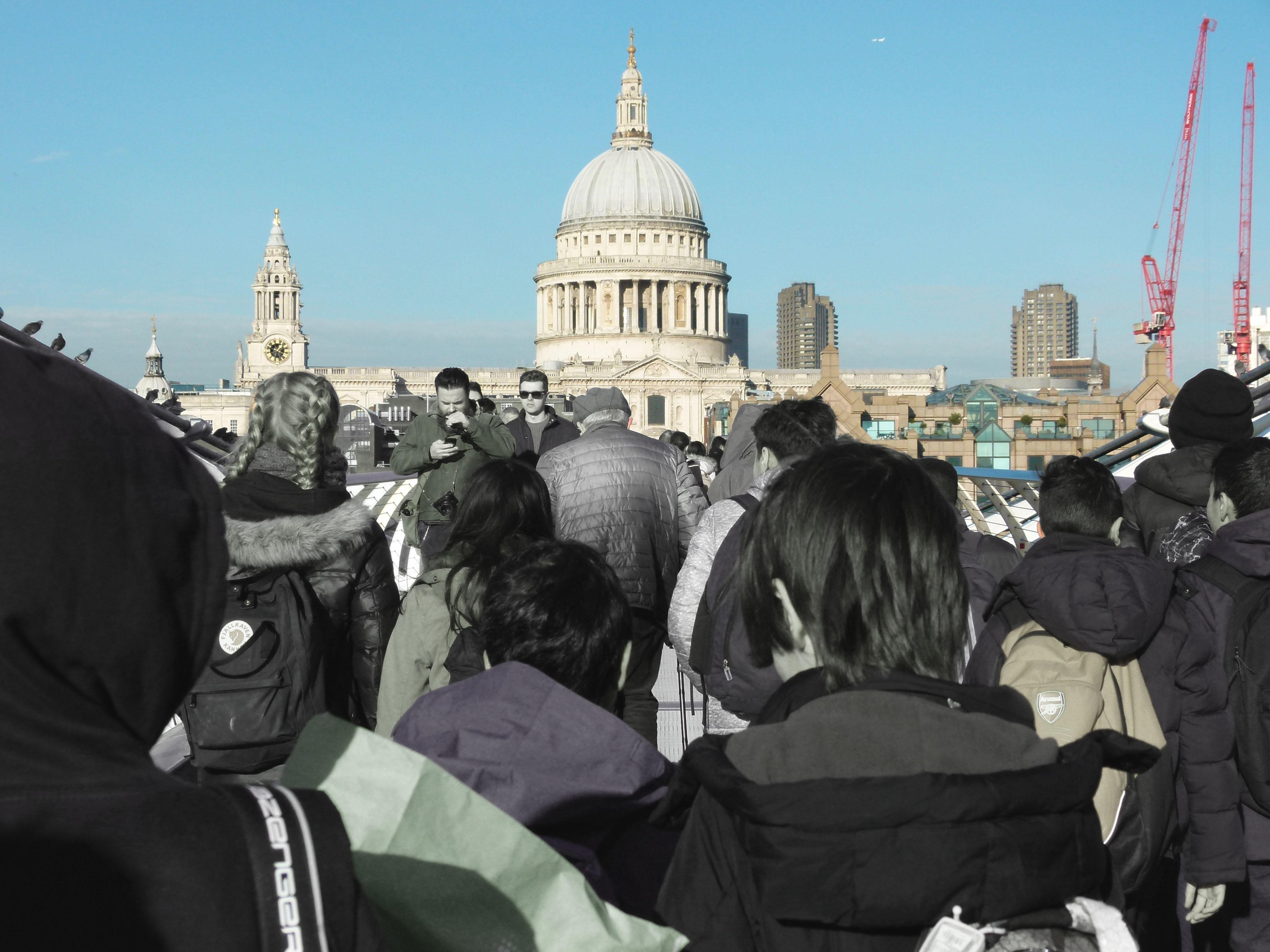 St Paul's and Millennium Bridge 2
