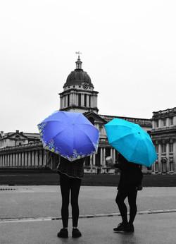Greenwich in the rain