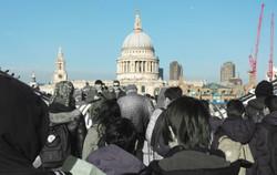 St Pauls and Millennium Bridge_1