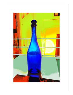 Puglian blue bottle