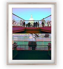 St Pauls and Millennium Bridge Lucy Cooper