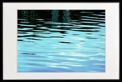 Docklands reflection framed