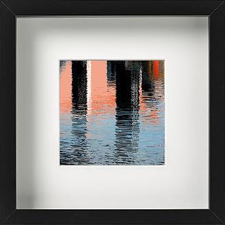 canary wharf reflection print