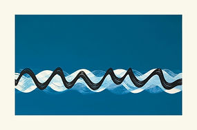 waves screenprint lucy cooper