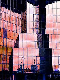 London Bridge reflection photographic print