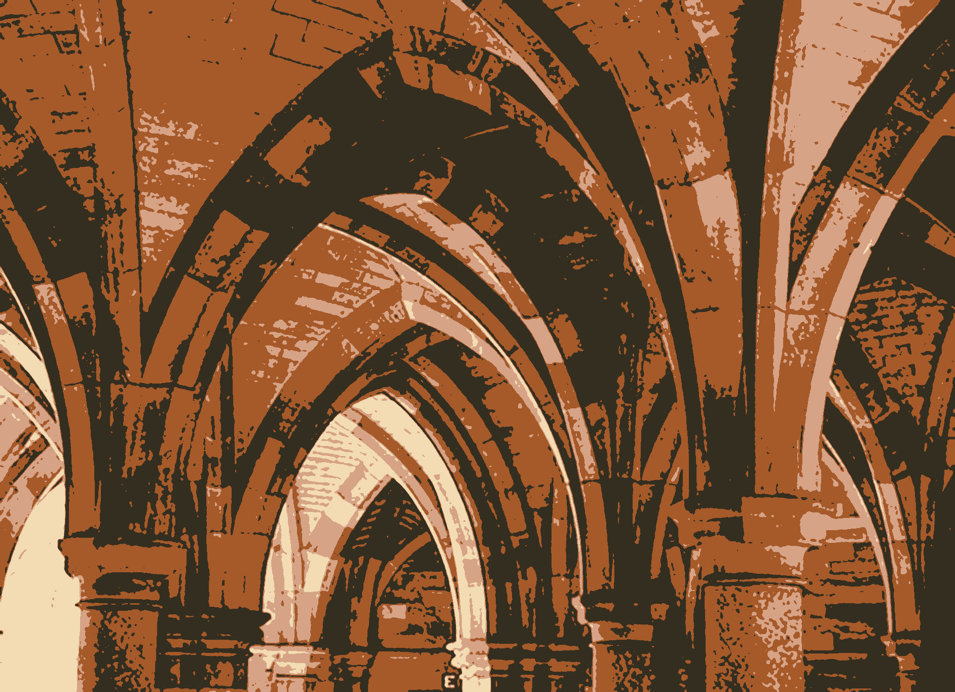 Glasgow University arches