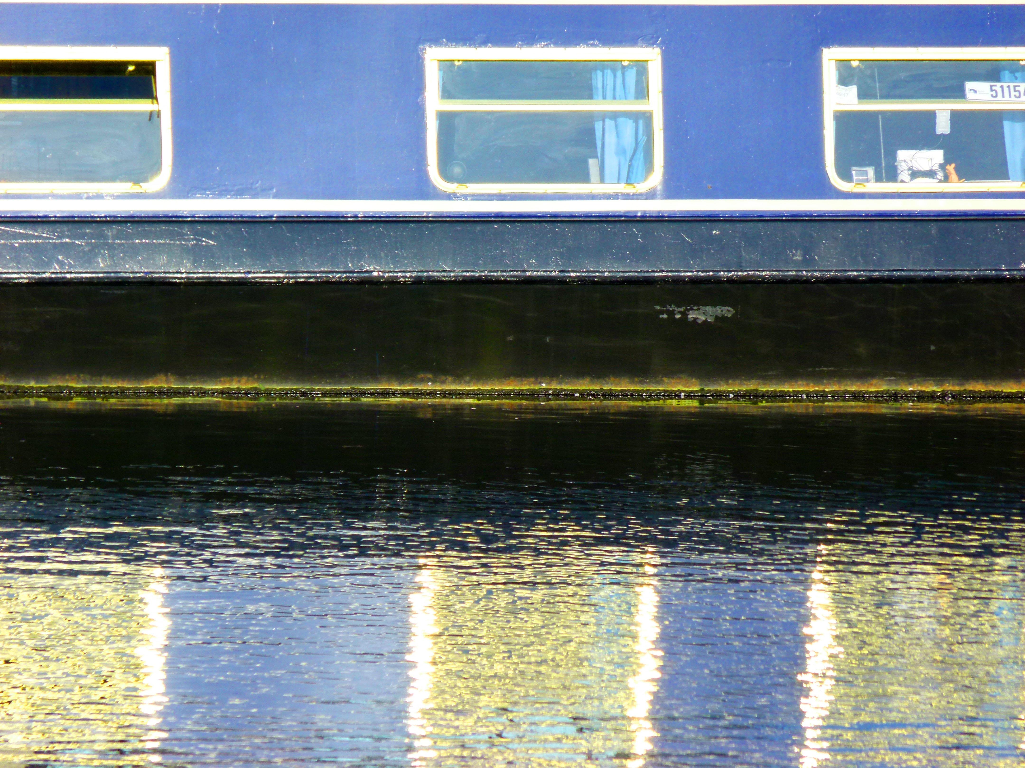 Docklands barge
