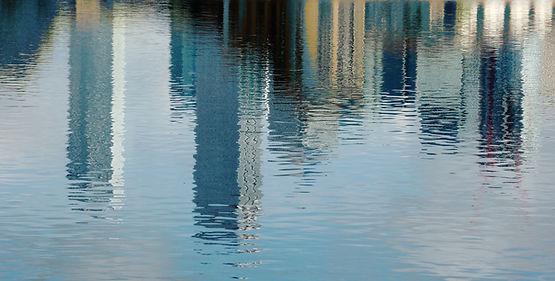 Canary Wharf reflection 4