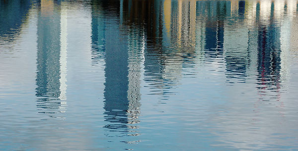Canary Wharf reflection 4