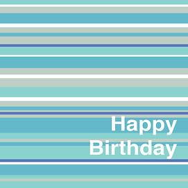Lucy Cooper design birthday card