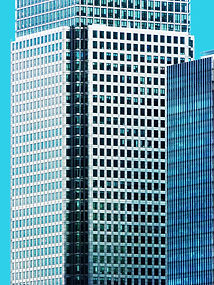print of Canary Wharf