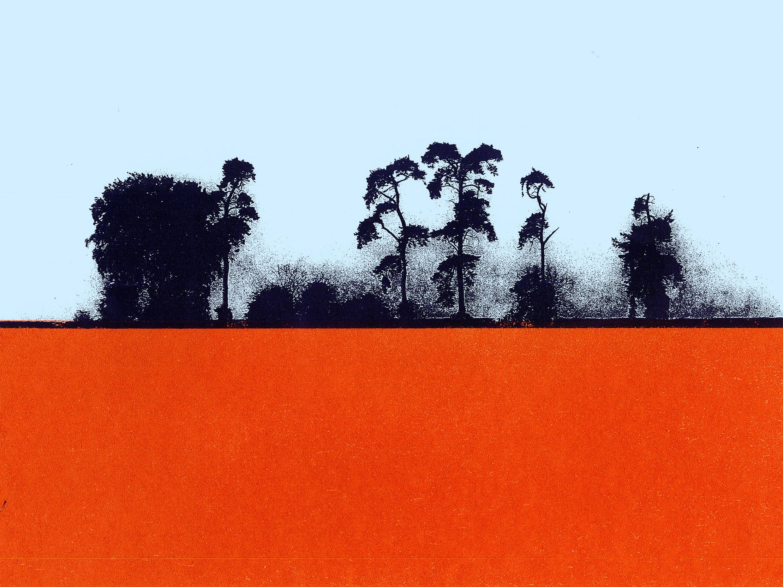 Oxfordshire treescape