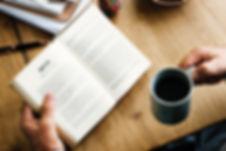 Lezen met koffie