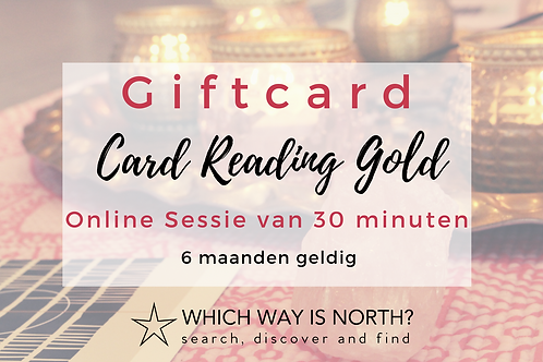 Intuïtie Card Reading Gold